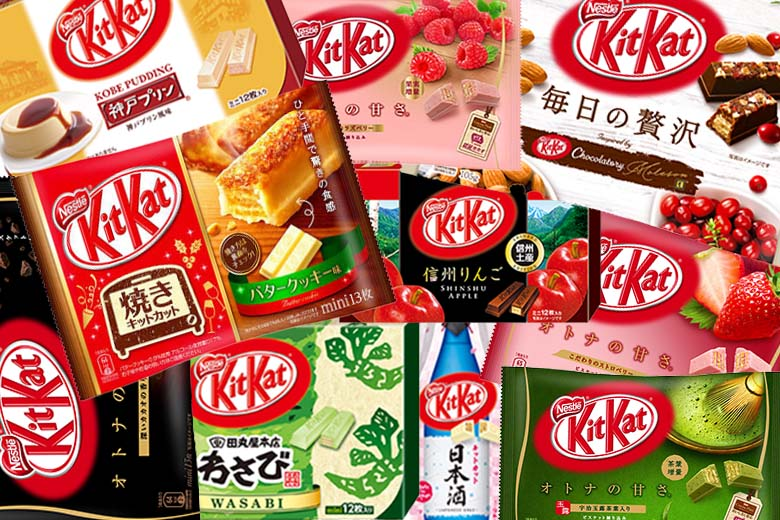 For snack time – Japanese snacks