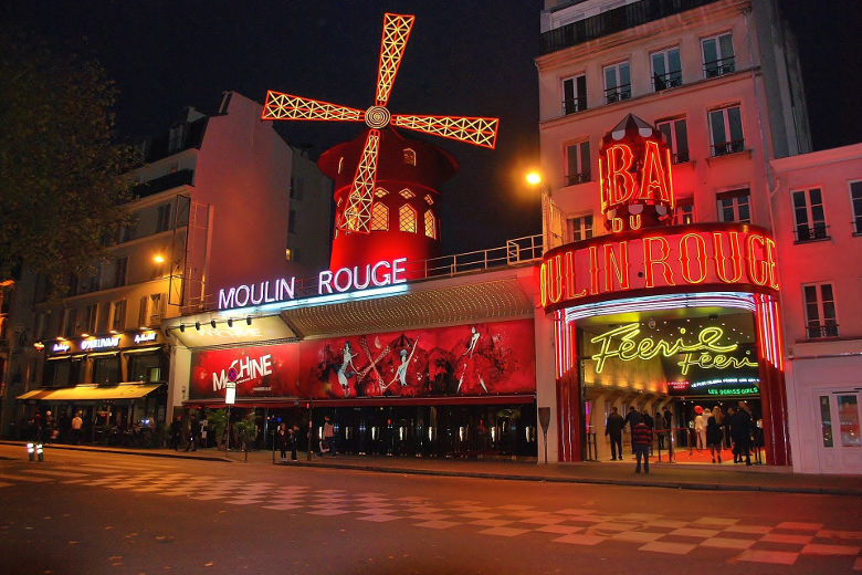 moulin rouge, 1 dag in Parijs