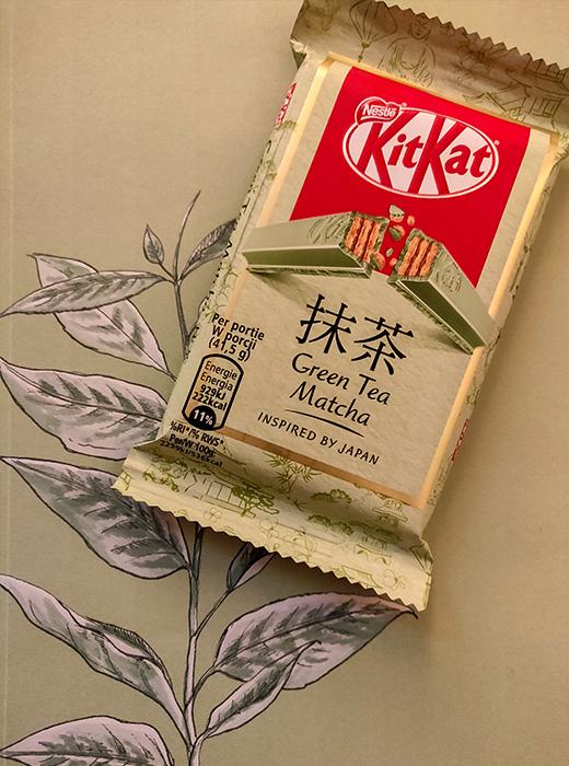kitkat groene thee